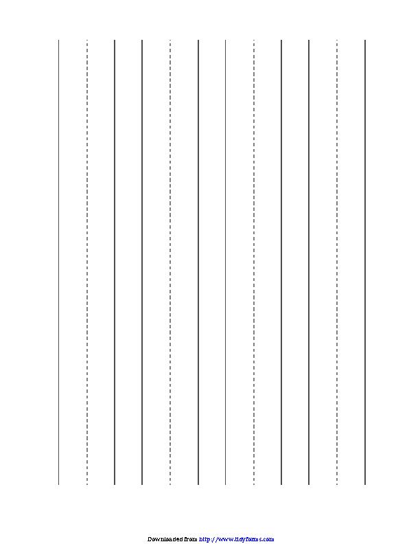 Manuscript Blank Paper Large Horizontal
