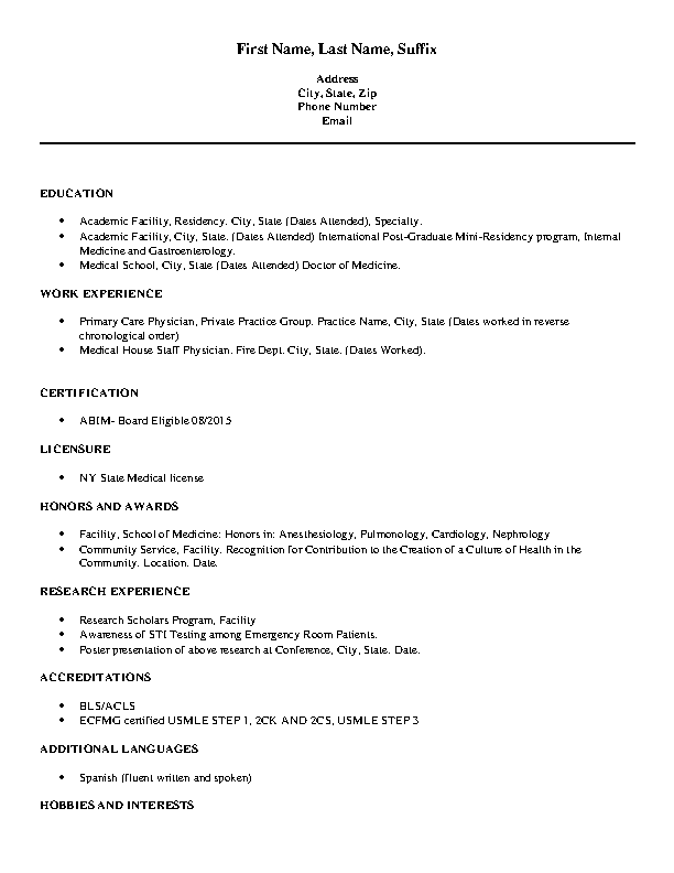 Resume Archives Page 93 Of 155 Pdfsimpli