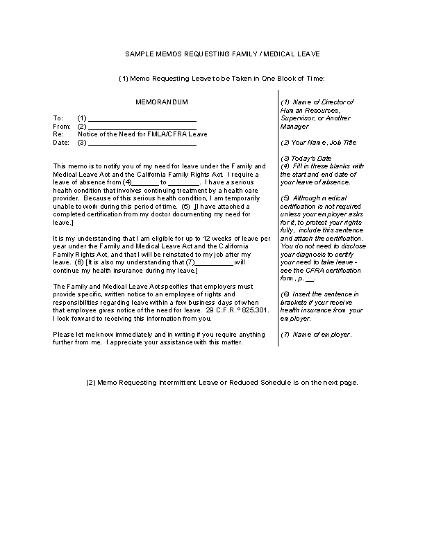 Fmla Request Letter To Employer from devlegalsimpli.blob.core.windows.net
