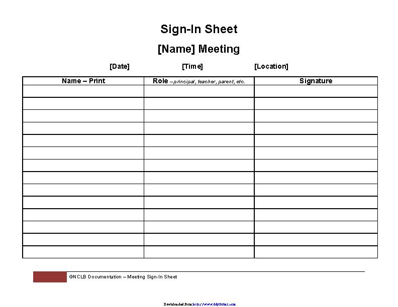 meeting sign in sheet pdfsimpli