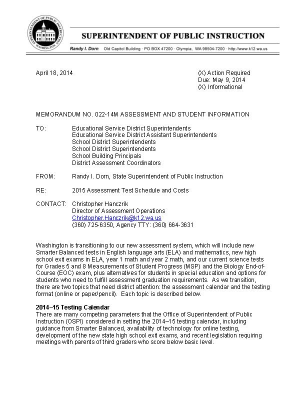 Memorandum Of Instruction Template