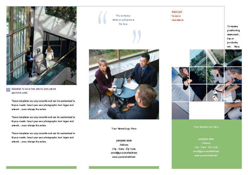 microsoft tri fold brochure templates pdfsimpli