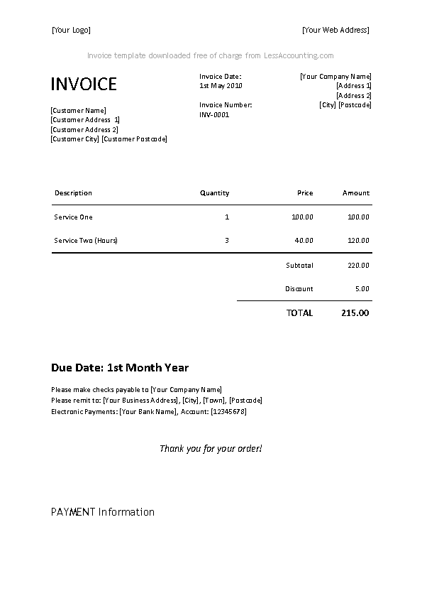 Invoice Template For Microsoft Word from devlegalsimpli.blob.core.windows.net