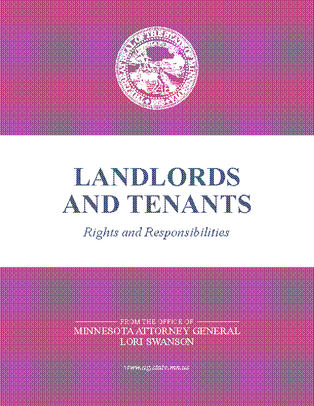 Minnesota Landlords And Tenants Rights And Responsibilities