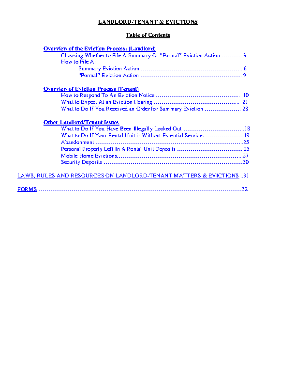 Nevada Eviction Handbook