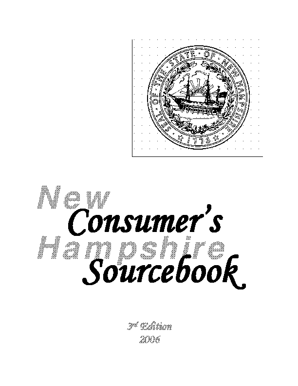 New Hampshire Consumer Sourcebook Landlord Tenant