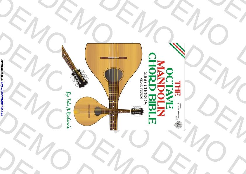 Octave Mandolin Chord Chart