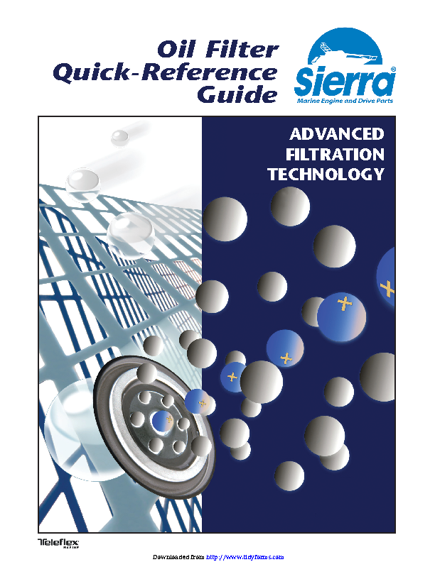 Oil Filter Quick Reference Guide