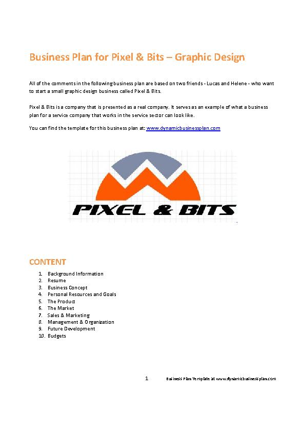 Orange Pixel Bits Business Proposal Example Pdfsimpli