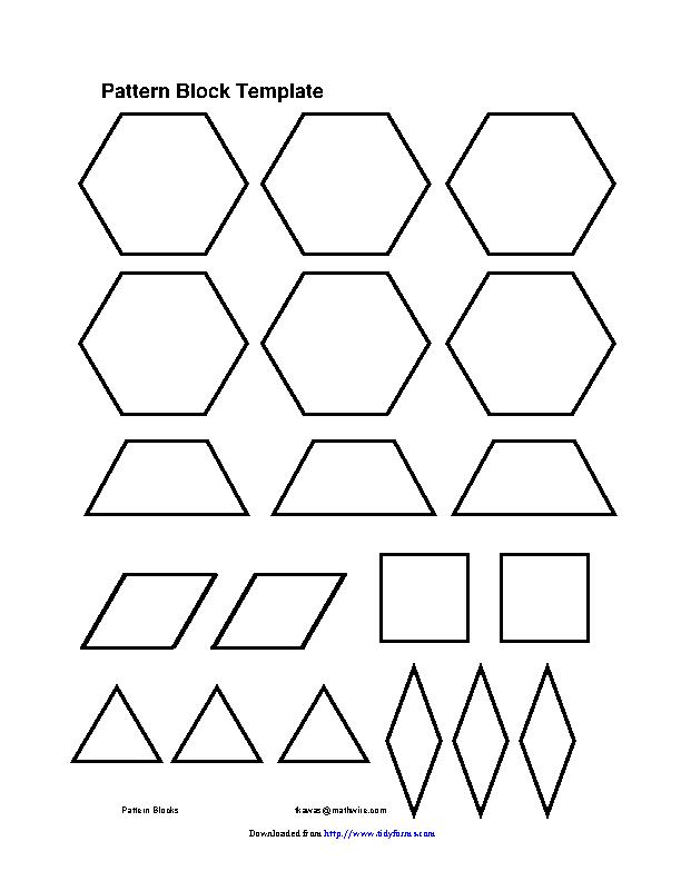 Pattern Block Template 3