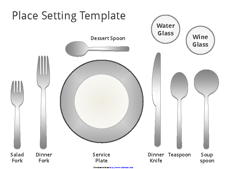 Fill Out Your Place Setting Template In Seconds With Pdfsimpli