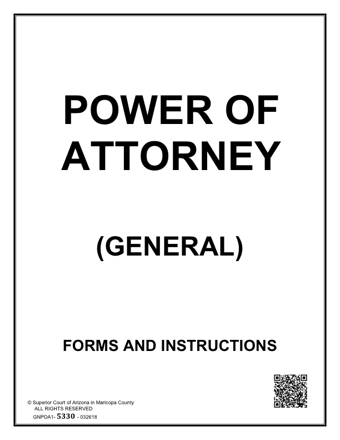 Power Of Attorney PDF