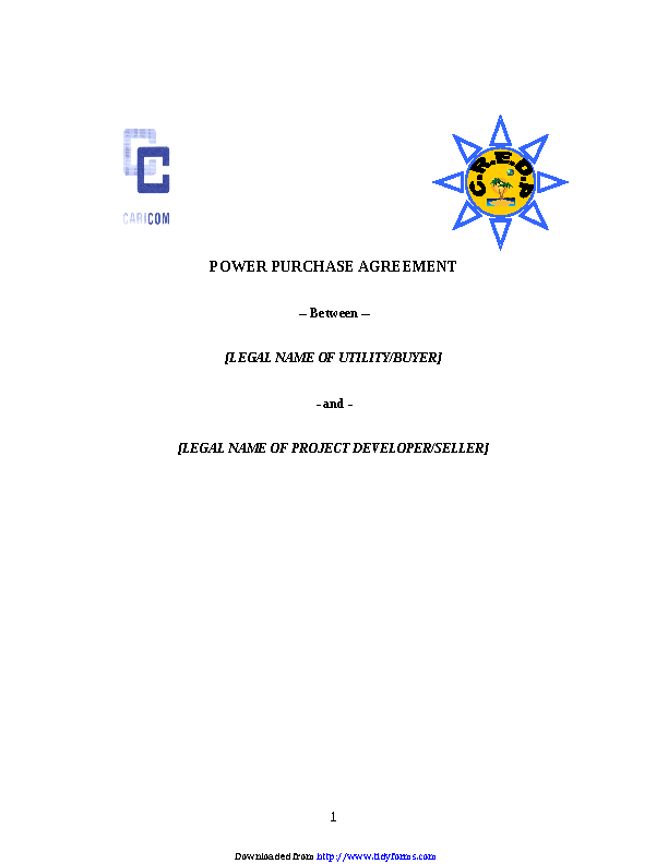 Purchase Agreement Template 2