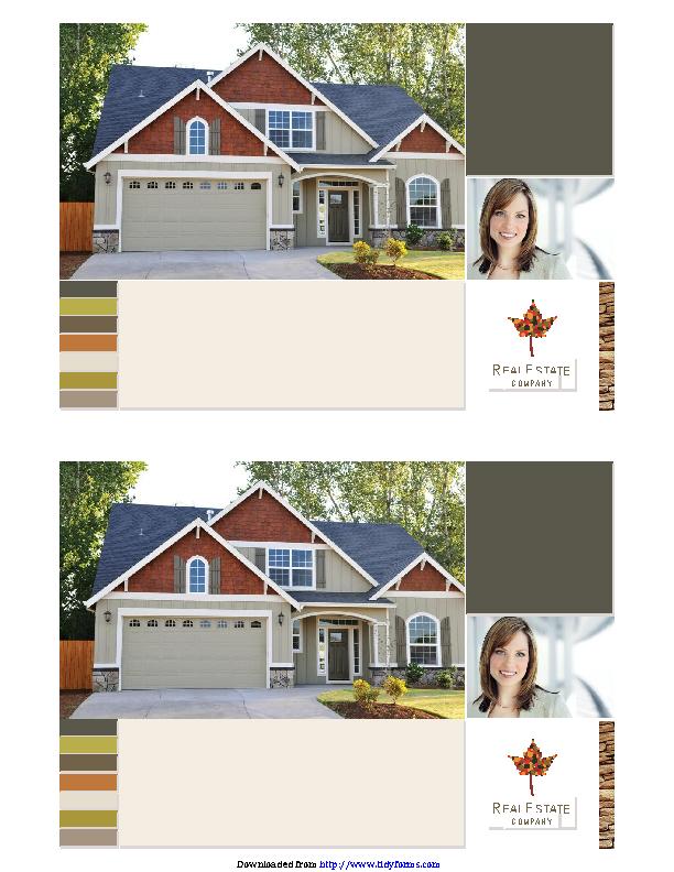 Real Estate Flyer 2