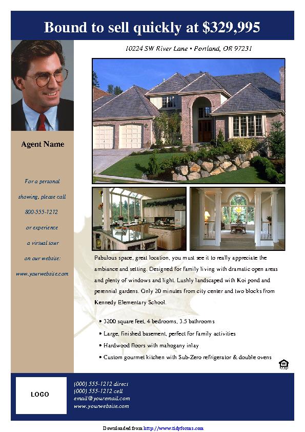 Real Estate Flyer 3