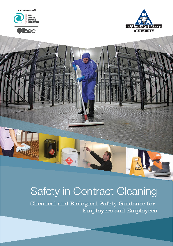 Safety In Contract Cleaning Free Pdf Download Template