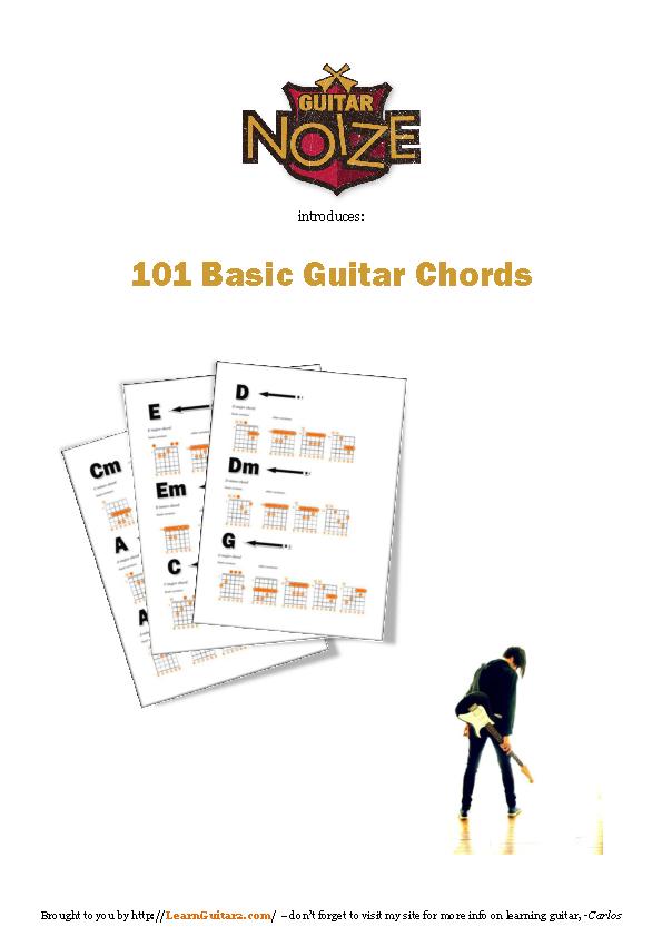 Sample Bass Guitar Chord Note