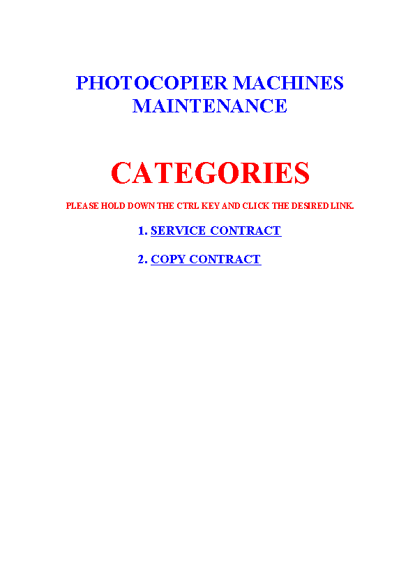 Service Contract Agreement
