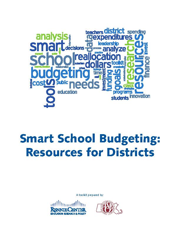 Smart School Budgeting