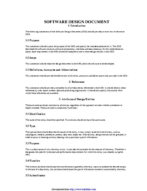 Software Design Document 4