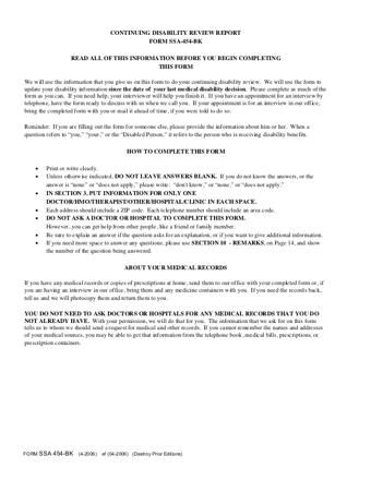 SSA 454BK PDF