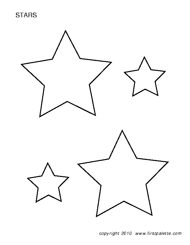 Star Template 1