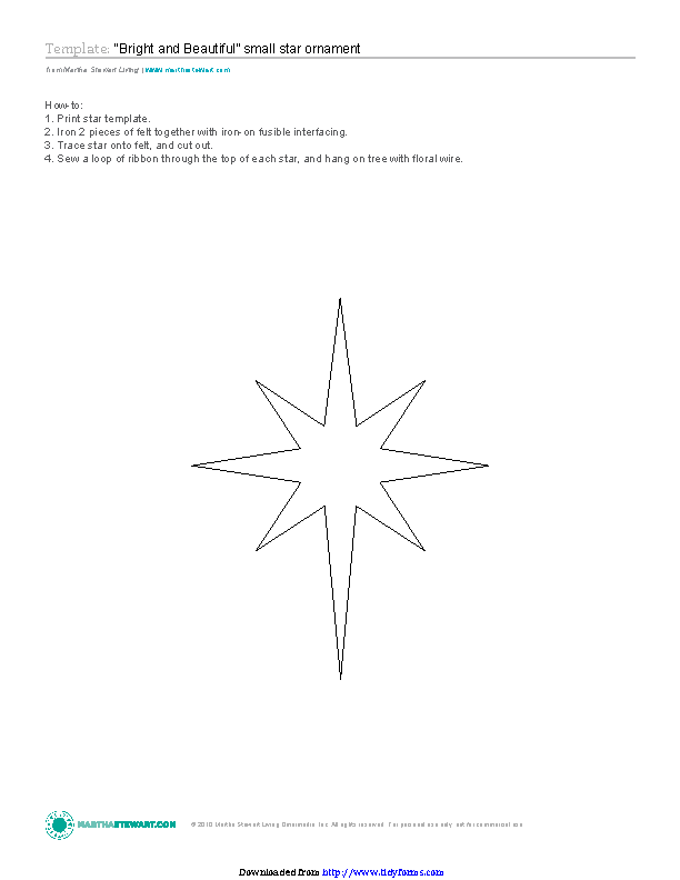 Star Template 3
