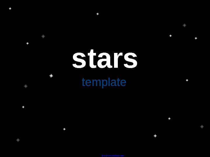 Stars Powerpoint Templates