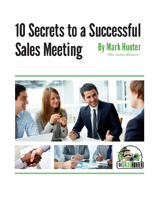 Steps For Sales Meeting Agenda