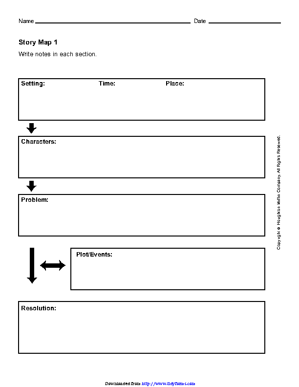 Story Map Template 1