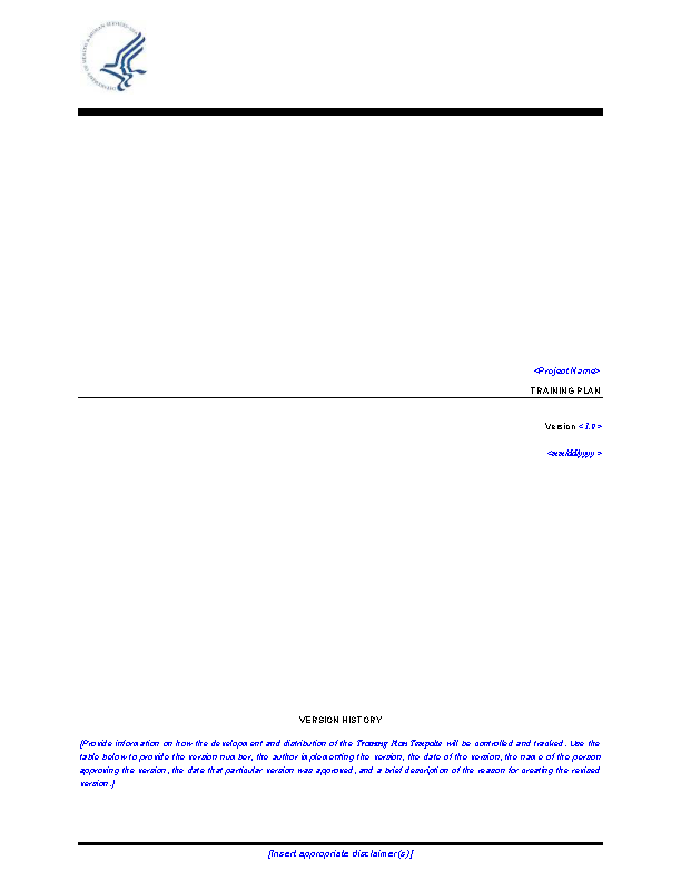 Strategic Training Doc Format Free Template1
