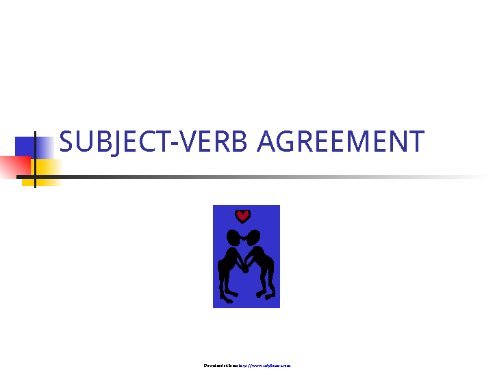 Subject Verb Agreement Ppt 3