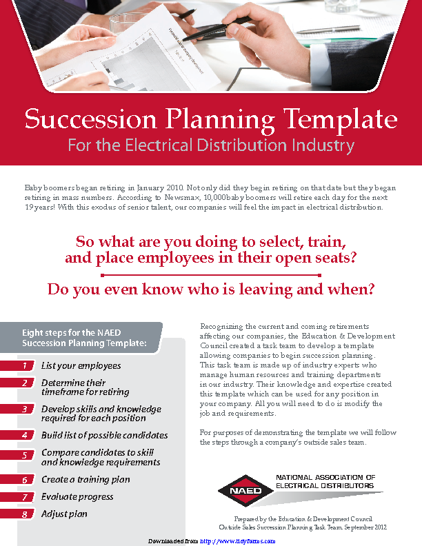 Succession Planning Template 3