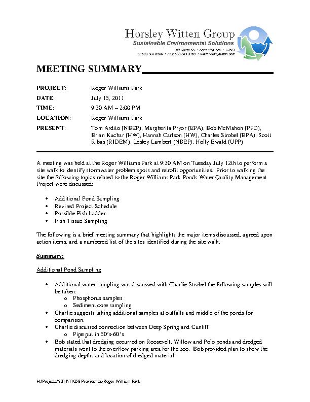 Summary Writing Minutes1