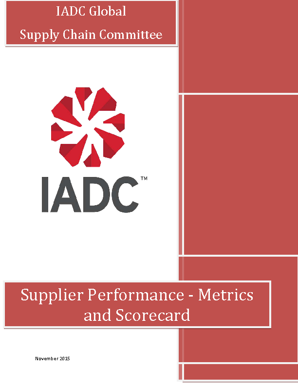 Supplier Performance Scorecard Sample0A