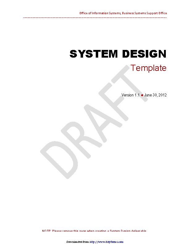 System Design Document 3