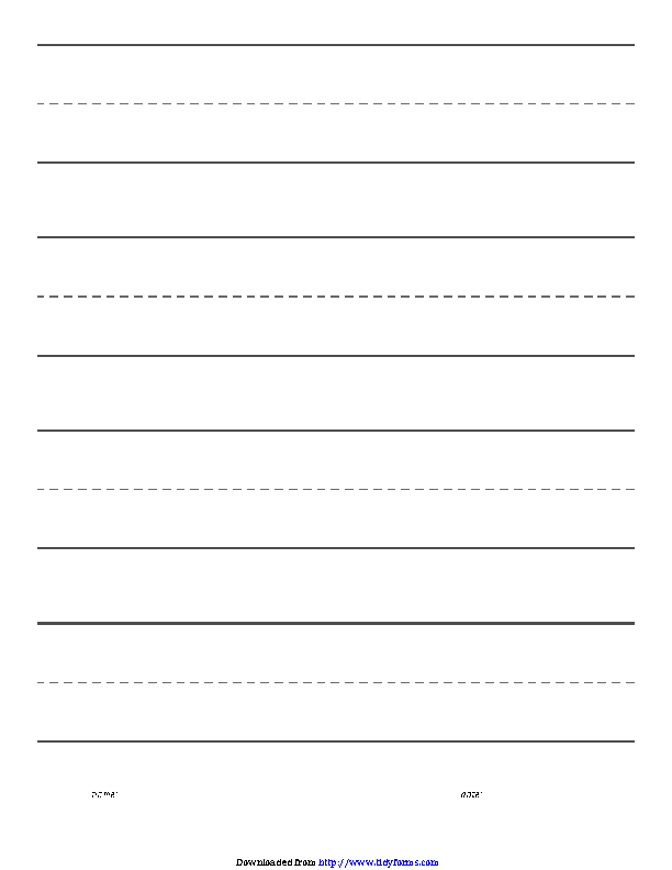 Targeted Blank Paper