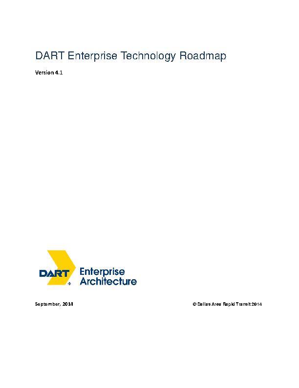 Technology Roadmap Template
