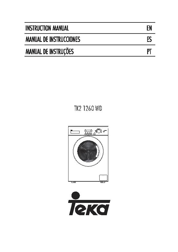 Teka Users Manual Sample