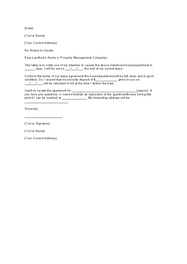 30 Days Notice Letter Template from devlegalsimpli.blob.core.windows.net