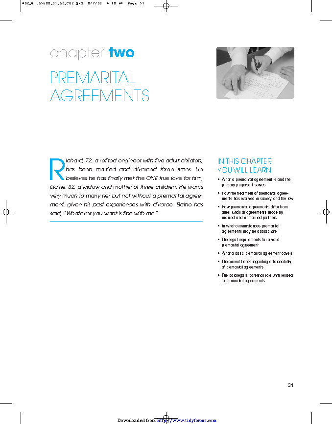Texas Prenuptial Agreement Sample Pdfsimpli