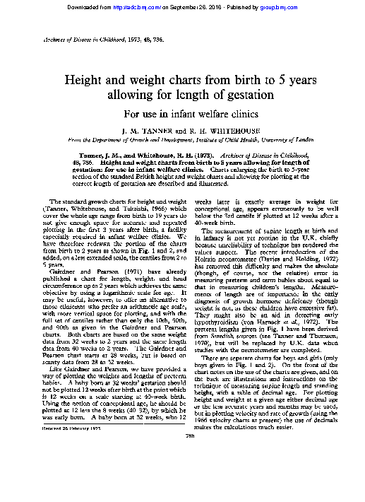 Toddler Height And Weight Chart For Boy