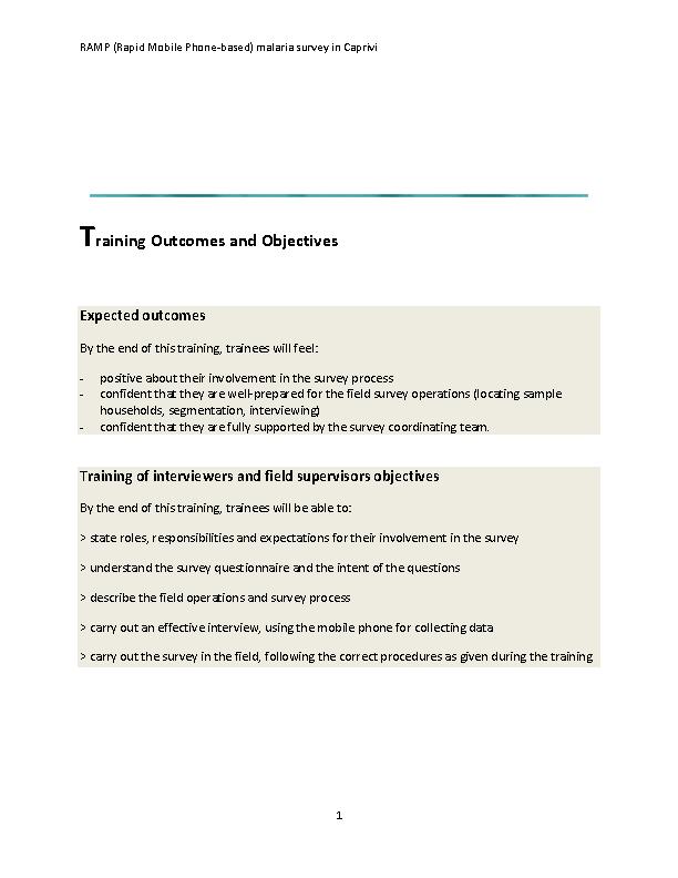 Training Agenda Template Pdfsimpli