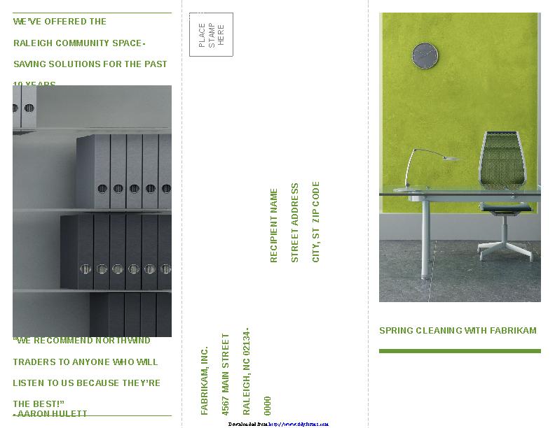 Tri Fold Business Brochure Template 1