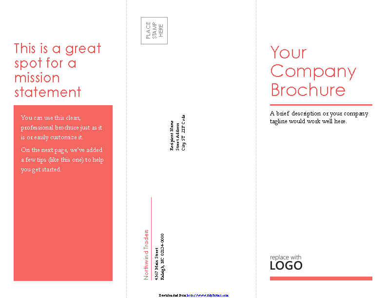 Tri Fold Business Brochure Template 3