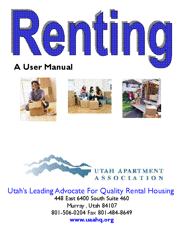 Utah User Manual To Renting Apartment Association