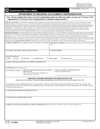 VA 21 534 PDF