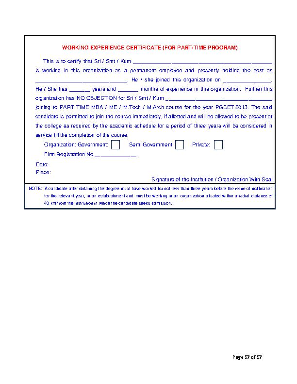 Work Experience Certificate Template1