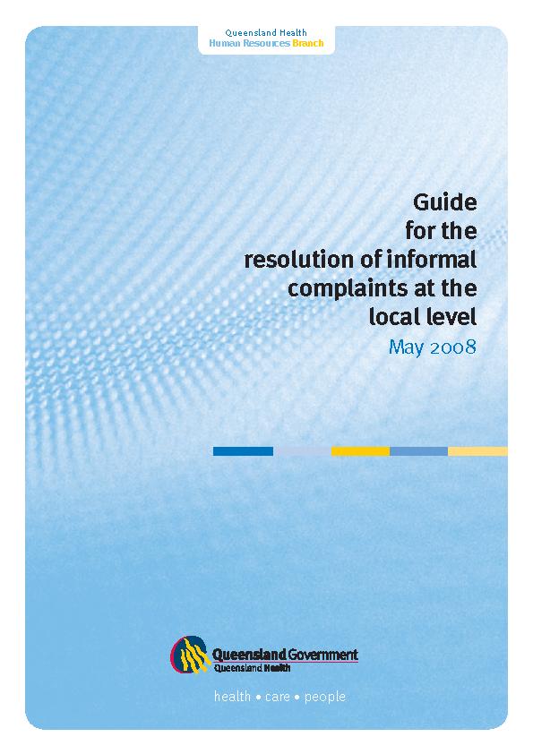 Workplace Complaint Form