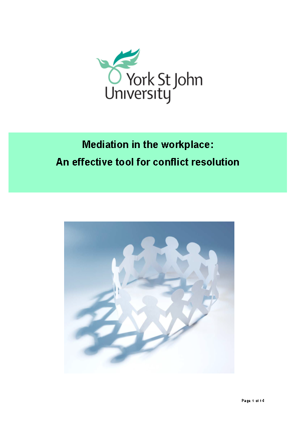 Workplace Mediation Confidentiality Agreement